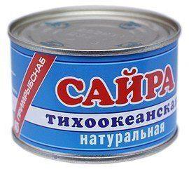 калорийность сайры консервированной